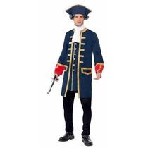 Disfraz De Pirata Capitan Colonial Para Adultos Envio Gratis