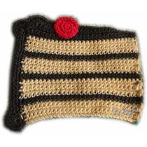 Aplique Porción De Torta Tejido Al Crochet