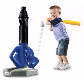 Lanzadora Pelotas Bate Fisher-price Triple Hit Baseball