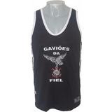 Kit Gaviões Da Fiel Bermuda + Camiseta Regata Originais