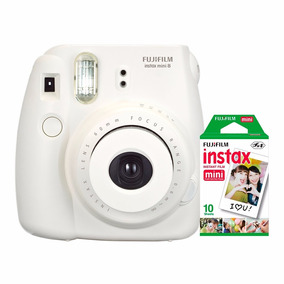 Câmera Instantânea Fujifilm Instax Mini 8 Branca + 10 Fotos