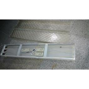 Kit Luminarias Tubulares-3 Pcs Tripla 40w E 2 Pcs Dupla 20w