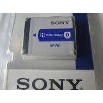 Bateria Sony Tipo D Modelo: Np-bd1