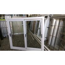 Ventana Aluminio Blanco 1,00 X 0,90 Con Vidrio Linea Herrero