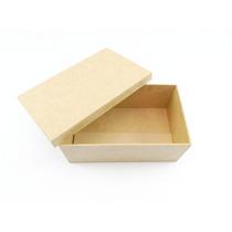 Caixa Para Vinho Mini Espumante E Taça Mdf - Kit Com 8