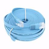 2 Piezas Cable De Red 20 Metros Categoría 6 Cat6 Utp Rj45