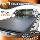 Lona Chevrolet S10 D/c Lg-12 Mod 96 Al 2011 (bracco)