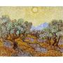 Lamina - Arboles De Olivo - Van Gogh - 70 X 60 Cm.