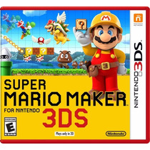 Super Mario Maker Para Nintendo 3ds - 2ds