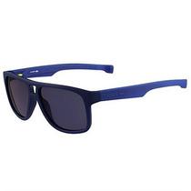 Óculos De Sol Lacoste Azul Com Hastes Ajustáveis