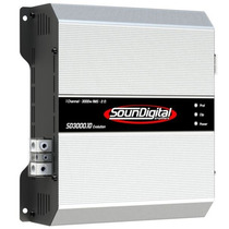 Módulo Amplificador Soundigital Sd-3000 Evo 3000w Rms+frete