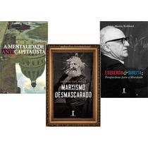 Kit 3 Livros - Mises E Rothbard
