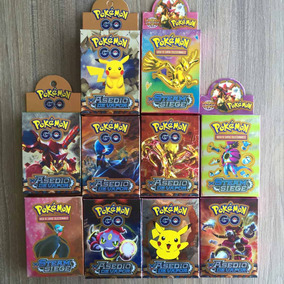 Kit 72 Cartas Colecionável Pokemon Pikachu Ash Festa