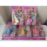 Boneca Princesas Branca D Neve Ariel Cinderella Bella Aurora