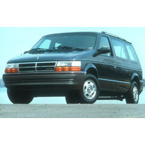 Manual Taller Diagramas E. Dodge Caravan 91-1995 Español!!