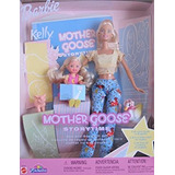 Juguete Barbie Y Kelly Mother Goose Cuentos Muñeca