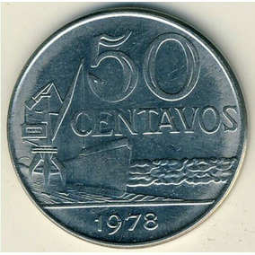 Moeda De 50 Centavo 1978 Brasileira