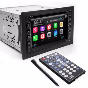 Central Multimidia Tay Tech Usb Dvd Gps 2din C/ Espelhamento