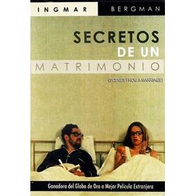 Secretos De Un Matrimonio Ingmar Bergman Pelicula Dvd