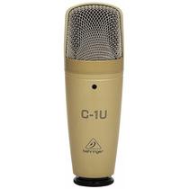 Microfono Condensador Usb Behringer C-1u - Blakhelmet Sp