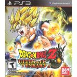 Dragon Ball Z Ultimate Tenkaichi Nuevo Fisico Ps3 Dakmor