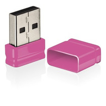 Pen Drive Multilaser Nano 8gb Rosa Pd063