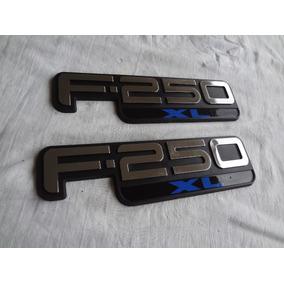 Emblemas Ford F250 Xl Peça Epoca Excelente Qualidade