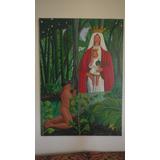 Cuadro Pintura Virgen De Coromoto (acrilico / Tela)