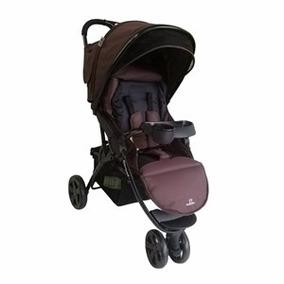 Carrinho De Bebê 3 Rodas Marrom