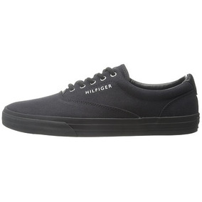 Tenis Tommy Hilfiger Clasico Canvas Casual 26 1/2 Mex