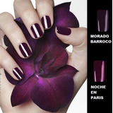 Esmalte Unique Prolong Color Nuevo Sellado Morado Barroco