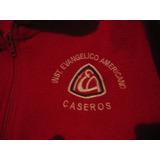 Evangelico De Caseros Campera Roja Talle 4 Y Talle 6