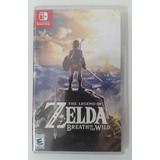 The Legend Of Zelda Breath Of The Wild Nintendo Switch Españ