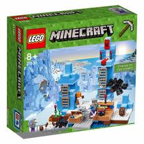 Envío Gratis Los Picos De Hielo 21131 Lego Minecraft
