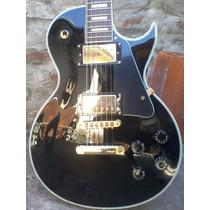 Gibson Les Paul Custom Black Clon Sx 2003 Canje Envio Tarj!