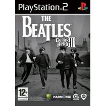 Comprar Jogo Guitar Hero Patch The Beatles Playstation 2 Ps2