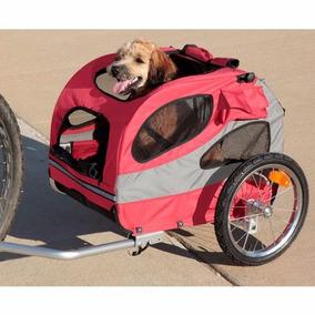 Remolque Para Mascotas Perro Bicicleta Median