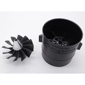 Turbina Edf 90mm 12 Pás De Alta Performance - Fúria Hobby