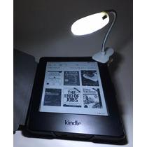 Luz Led P Kindle/kobo/lev - Baterias Inclusas + 70 Ebooks