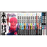 14 Tomos Manga Mirai Nikki