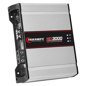Modulo Amplificador Taramps Hd 3000 2ohms 3000w Rms 1 Canal