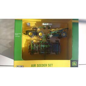 Ertl Tractor John Deere Con Sembradora Serie 8r Esc 1 64