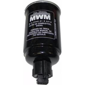 Filtro Combustível S10 2.8 2002 À 2005 + Sensor Genuínos Mwm