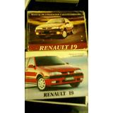 Manual Renault 19 R19 Utilizacion Y Mantenimiento