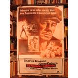 Charles Bronson El Peleador Callejero. Afiche Cine Original