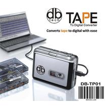 Db Tech Usb Audio Cassette Tape Portátil-to-mp3 Player Con