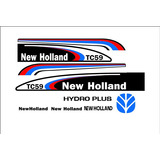 Kit Adesivo/decalque New Holland Tc59/tc57