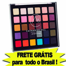 Paleta De Sombras Profissional 30 Cores Catharine Hill
