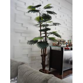 Planta Artificial / Árvore Palmeira Leque 1,80mt De Altura