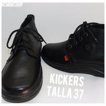 Zapato Escolar Kiker Talla 37